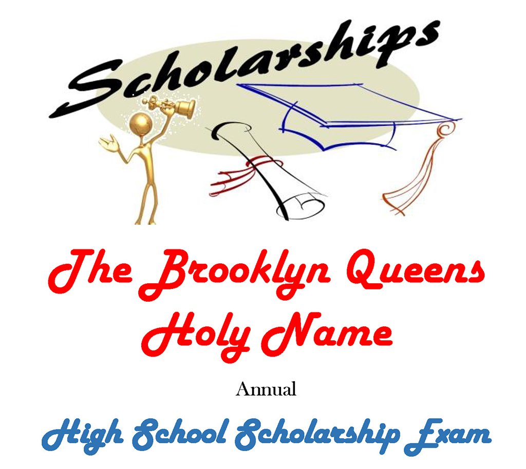 Annual High School Scholarship Exam, Saturday, December 1, 2018