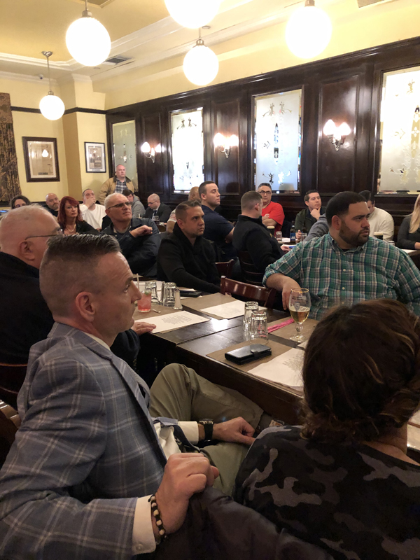 Theology on Tap March 2020 meeting photo