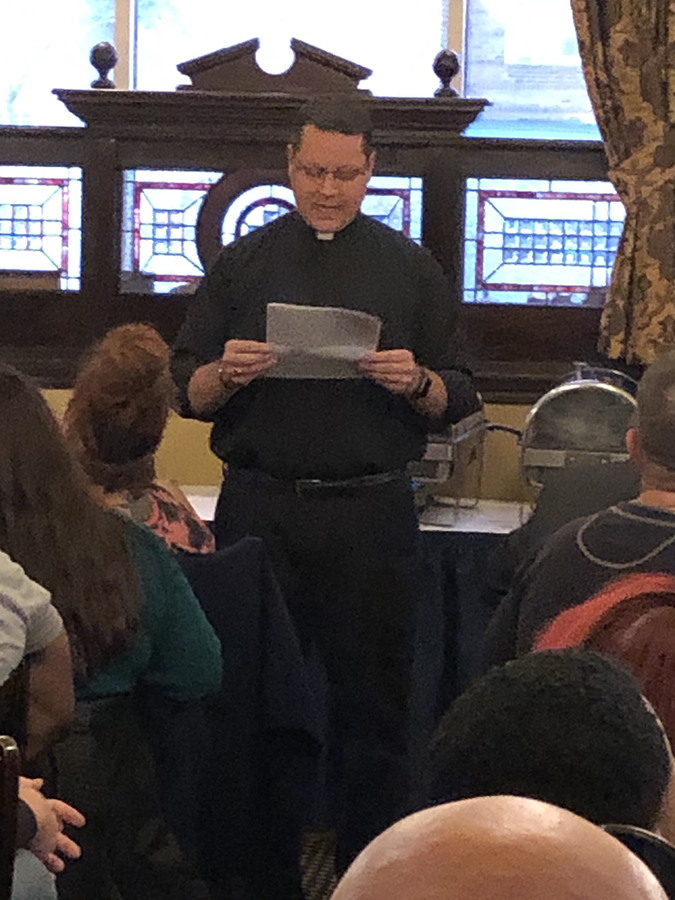 Theology on Tap October 2019 meeting photo
